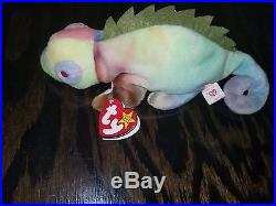 IGGY the iguana RARE ty baby great condition! Asking a bit less than competitors