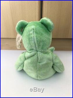 Kicks RARE Ty Beanie Baby Original Bear Collectable 1998