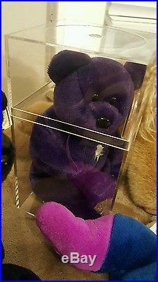 Lot Beanie Baby 130+ includes Rare PVC Bears Originals