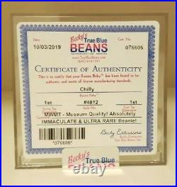 MWMT MQ Authenticated 1st Generation Chilly! Immaculate and Ultra Rare