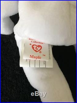 Maple TY Beanie Baby-3 Tags-Indonesia MadeUnnumberedMWMTRAREMUSEUM QUALITY