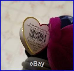 Millenium Bear MINTY Ty Beanie Baby RARE/ERRORS