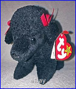 979ab8ec53a Mint RARE Ty GiGi Poodle Beanie Baby Date   Tag Errors Retired 307 ...