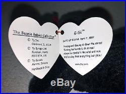 Mint RARE Ty GiGi Poodle Beanie Baby Date   Tag Errors Retired 307 ... 445f4631836
