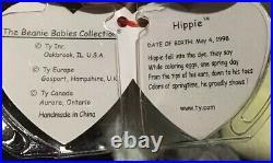 NEW Beanie Babies Hippie ERRORS 1998 1999 Ty Rare ORIGINAL OWNER Baby Bear Vtg