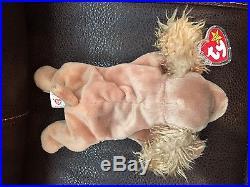 New, Retired Rare 1997 Spunky The Cocker Spaniel Beanie-pvc