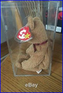 Original Rare Curly Ty Beanie Baby Mint Many Errors Collector Kept