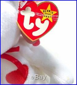 Original TY Valentino Beanie Baby (1993) Retired Rare with tag Errors