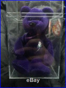 Princess Diana Beanie Baby Super Rare- P. V. C Pellets- No Space- Made In China