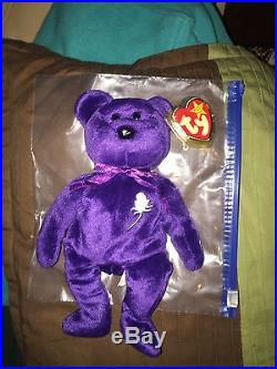 21a165f1fd2 Princess Diana Genuine ty Beanie Baby Rare 1st Edition 1997 MINT ...