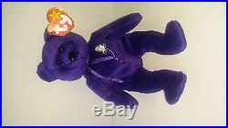 Princess Diana Ty Beanie Baby 1st Edition, Rare, Mint Condition, 1997, Retired