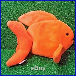 583102d102f RARE 1994 GOLDIE The GOLDFISH Ty Beanie Baby RETIRED PVC Plush Toy FREE  SHIPPING