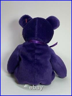 RARE 1997 TY Princess Diana Beanie Baby, Made in China, P. E Pellets