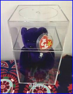 RARE 1st Edition 1997 TY Princess Diana Beanie Baby, Made In China, P. E. Pellots