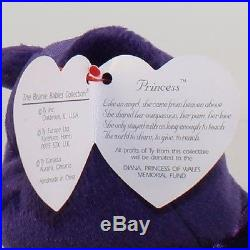 Rare 1st Edition 1997 Ty Princess Diana Beanie Baby Made In China