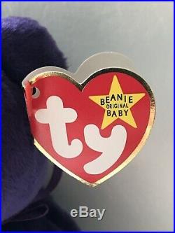 RARE 1st Edition Princess Diana Beanie Baby