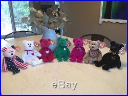 9f926e1641e RARE Beanie Baby Bears -Valentino
