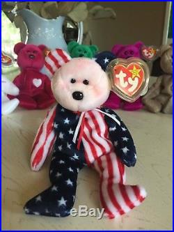 RARE Beanie Baby Bears -Valentino 8d3f831c10a