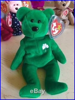 RARE Beanie Baby Bears -Valentino, Valentina, Millenium, Signature Bear and more