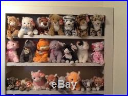 RARE, HUGE Lot of 750 Beanie Babies, including specific rare finds