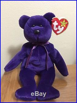 Mint Ty Beanie Baby Princess The Diana Bear From 1997 Rare