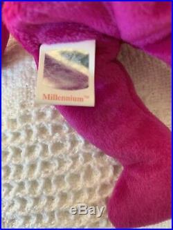 RARE New Mint Ty Beanie Baby Millennium 1999
