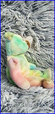 RARE Original Ty Beanie Baby Peace. Mint Condition RARE WITH ERRORS 1965KR