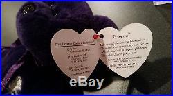 RARE Princess Diana Ty Beanie Baby 1st edition, 1997 PE Pellets, NWT, MINT