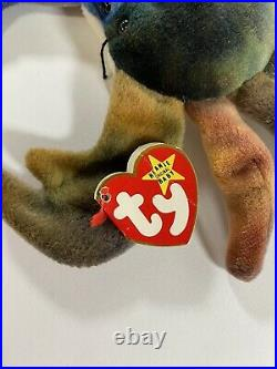 RARE/RETIRED CLAUDE style 4083 the crab TY beanie baby mint condition