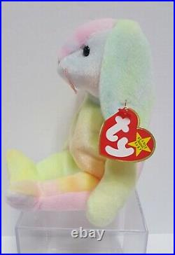 RARE RETIRED TY Beanie Baby Hippie with Errors and in Mint Condition