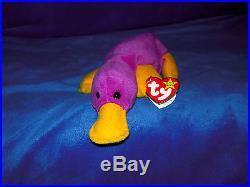 RARE Retired Patti the Platypus Beanie Baby