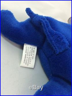 Rare Ty Beanie Baby Royal Blue Peanut Mint Condition
