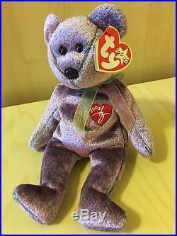 RARE TY Beanie Baby Rare 2000 Signature Bear