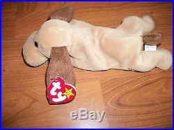 RARE Ty 4001 Bones Beanie Baby Tush Tag 1993 PVC Pellets Great Condition