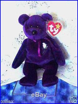 df2255bb14c RARE Ty Beanie Baby 1997 Princess Diana Bear Retired! 1 2 Price- Mint