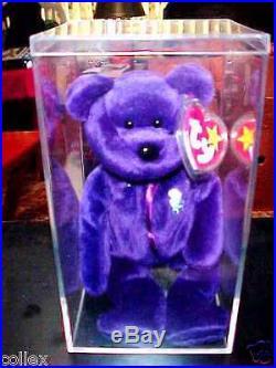 70a5b50d66f RARE Ty Beanie Baby 1997 Princess Diana Bear Retired! 1 2 Price- Mint
