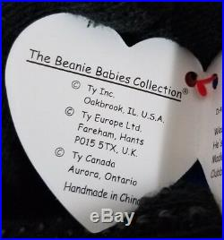 RARE Ty Beanie Baby Clubby #01 Official Club Bear MWMT withTag Protector