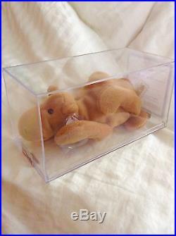 RARE Ty Beanie Baby Humphrey The Camel 3rd / 1st Gen MWMT-MQ
