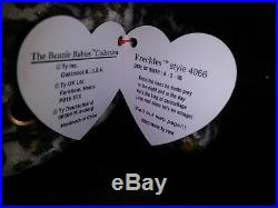 RARE Ty Beanie babies Retired CLAUDE The Crab with ALL CAPS Tag Errors 1996