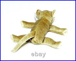 RARE VINTAGE TY Beanie Baby Scat The Cat 1999 Retired ERRORS