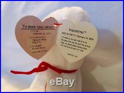 a19bbf49cc1 RARE Valentino Beanie Baby New with Tags Misspelled Tags PVC Pellets ...