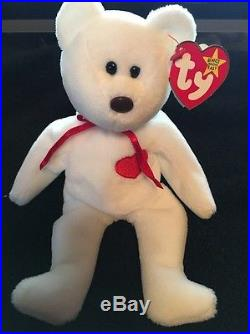 4b747ceafef RARE Vintage Valentino Beanie Baby Misspelled Tag and PVC Pellets lots of  errors
