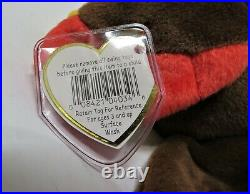 RETIRED RARE Ty Beanie Baby GOBBLES the Turkey 1996/1997 Tags Mint Condition