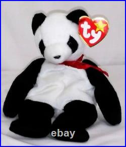 RETIRED Ty Beanie Baby FORTUNE Bear ERRORS With Tags RARE