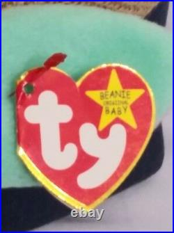 RETIRED Ty Beanie Baby HIPPITY BUNNY 5 ERRORS With Tags RARE MINT