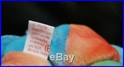 Rainbow Ty Beanie Babies Rare Retired Peace Bear Original