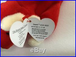 Rare 1995 Ty Snort Beanie Babies P. V. C Pellets