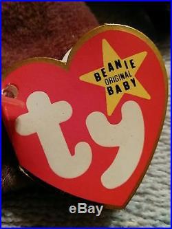 Rare 1996 Claude the crab TY beanie Original baby RARE free shipping