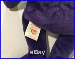 Rare 1997 Princess Diana Ty Beanie Baby 1st Edition Perfect Condition Retired