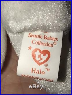 Rare Beanie Baby Halo Retired Nose Error and Tag Errors One Day SALE